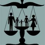 Family Law Scale of Justice